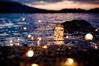 Sunset bokeh (catest79) Tags: bokeh pentax pentaxk3ii sigmaart1835 sigma1835 sigmaart sigma ricoh sicily sunset sea seascape light lightbulb mediterranean rocks reflection reflections creativephotos creative idea glass