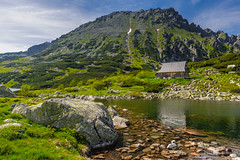 Hut in Tatra mountains (z.dorighi) Tags: tatry zakopane poland mountains tatra pond lake water hut shelter stone landscape view beautiful