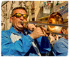 Trompeta con gafas (dapray) Tags: trompeta comparsa musico gafas vilanova geltru fiesta feast musica banda musical carnaval trombon orquesta