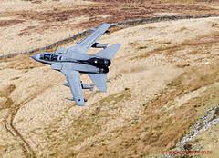 RAF Tornado Gr4 flying training in LFA7 (JetPhotos.co.uk) Tags: aviation bobsharplesphotography defence hills lfa7 lowflying lowflyingarea7 mountains roundabout snowdonia valley valleys wales welsh aircraft training raf tornado gr4 royalairforce wwwjetphotoscouk 035 za542