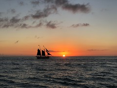 Key West Sunset (issabelschultz) Tags: beach silhouette color keywest florida travel vacation travelphoto waves