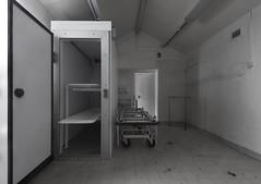 Cold Storage (Camera_Shy.) Tags: mortuary morgue fridge hospital urban exploration derelict abandoned disused building bw monochrome nikon d810