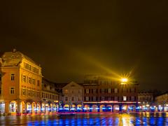 Ludwigsburg bei Nacht (jomobil) Tags: landmark night city sky en water reflection ludwigsburg badenwürttemberg deutschland de