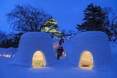 秋田 横手かまくらまつり (SU QING YUAN) Tags: 2470za a99ii sony snow snowscape landscape landmark nightscape japan yokote