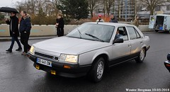 Renault 25 V6 Injection 1987 (XBXG) Tags: dd441zm renault 25 v6 injection 1987 renault25 r25 31ème salon champenois du véhicule de collection belles champenoises 2018 époque reims marne 51 grand est grandest champagne ardennes france frankrijk old classic french car auto automobile voiture ancienne française vehicle outdoor