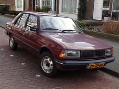 1986 Peugeot 305 GL (Skitmeister) Tags: carspot netherlands nederland skitmeister 29zphf