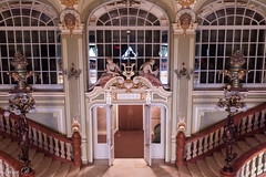 A grand entrance for HWW (Irina1010) Tags: windows stairs marble architecture beautiful interior foyer teatrulnationaliasi iasi nationaltheater canon