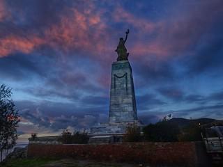 statue of Liberty..Lesvos..Greece