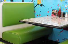 Your table is ready (tmattioni) Tags: marltondiner booth green color retro ketchup cmwd