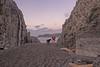 through the gap (glasnevinz) Tags: newzealand wellington breakerbay pointdorset rocks sea