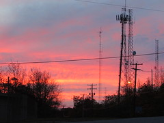 """Red Skies At Night"", Altoona PA, The View (beagenm) Tags: altoonapa redskies sunset"