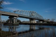 DSC_5367 (Copy) (pandjt) Tags: roadtrip unitedstates usa southcarolina northmyrtlebeach northmyrtlebeachsc barefootresortbridge barefootresortswingbridge swingbridge intracoastalwaterway bridge