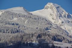 IMGP3946 Dossen und Margelchopf (Alvier) Tags: schweiz switzerland ostschweiz alpenrheintal buchs alviergebiet winter schnee spätwinter