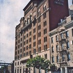 San Francisco  California - Harbor Court Hotel - AKA - Old Army-Navy YMCA residence, built in 1926 thumbnail