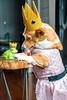Fairy Tail 64/365 (stevemolder) Tags: tiara strobist 365 photo project challenge fairy tale grimm brothers dress pink frog prince kiss lick corgi pembroke furry speedlite westcott welsh