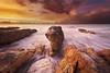Firey over Nightcliff (Louise Denton) Tags: nightcliff fire sunset sky red orange yellow wetseason vibrant darwin nt australia
