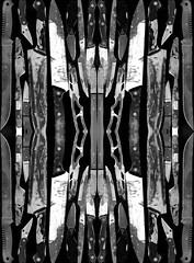 my so called knife 6 (wesley.miller.art) Tags: darkart weirdart outsiderart lowbrow surrealist surrealism surreal collage digitalcollage digitalart knife knives blades weapons kaleidoscope rorschach