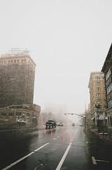 downtown snow cap (janette_j) Tags: downtown ogden snow cap utah cold weather street nikon n 65 ektar 100 darkroom lab developer