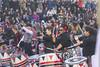 Big smiles big styles (Tim Brown's Pictures) Tags: washingtondc chinatown chinesenewyear parade yearofthedog 2018 batala drummers women music musicians afrobrazilianband sambareggae drumming washington dc unitedstates