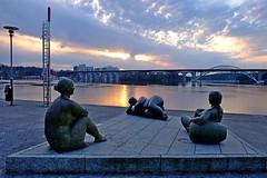 DSCF1649 (Peter Ghita) Tags: city stockholm lake reflections fujifilmxt1 fujinonxf1855mmf284rlmois ice