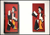 """""""Charlot cubiste"""" 1924 Fernand Léger, Exposition Fernand Léger (1881-1955) """"Beauty is Everywhere"""" """"La Beauté est partout"""", Bozar, Bruxelles, Belgium (claude lina) Tags: claudelina belgium belgique belgïe bruxelles brussel palaisdesbeauxartsdebruxelles bozar exposition fernandléger lebeauestpartout beautyiseverywhere peinture painting oeuvre art charlotcubiste collage bois wood"""