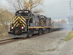 DSC01759 (mistersnoozer) Tags: lal shortline railroad rgvrm excursion train alco rs36 c425 locomotive