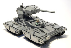 "M808B ""Scorpion"" Main Battle Tank (iTomWalker) Tags: halo scorpion tank lego afol moc"