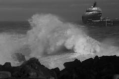 IMG_5410 (monika.carrie) Tags: monikacarrie aberdeen scotland waves northsea