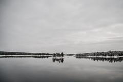 Moonlight (Nathalie Le Bris) Tags: finland ivalo longexposure noche invierno minimalist
