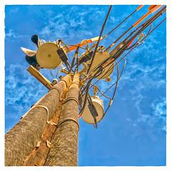 Triple (Timothy Valentine) Tags: telegraphtuesday large sky 0318 transformer 2018 whitman massachusetts unitedstates us