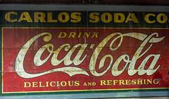 Coca-Cola Sign (JavaJoba) Tags: cocacola atlanta downtownatlanta underground sign billboard