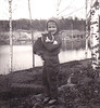 Ydrehammar Sweden 1960 (Ankar60) Tags: svartvitt black white ydrehammar sweden stångån 1960 60 1960s sextiotal sixties nostalgi vintage old photo gammalt foto scanned gamla foton barn child children kid kids