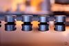 Warm reflection (Pablouno) Tags: reflection kitchen warm dials fujixt1 fujifilm xf35f2 reflejo cocina orange naranja goldenhour botones symmetry geometry calides geometric