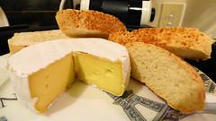 Bread and cheese (Sandy Austin) Tags: panasoniclumixdmcfz70 sandyaustin massey westauckland auckland northisland newzealand brie cheese bread slices food