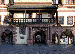 Altes Rathaus (ingrid eulenfan) Tags: eingang leipzig stadt markt rathaus marktplatz altesrathaus sonyalpha6000 sonye16mmf28