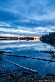 Blue Hour at Cranberry Lake