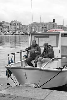 Charla en el barco