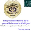 Info you missed about do-it-yourself divorces in Michigan!(1) (getitdonewithoutlawyers) Tags: divorce with child