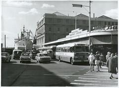 Municipal Bus Depot, Auckland (Archives New Zealand) Tags: archivesnewzealand archives archivesnz nationalpublicitystudios aotearoa tourism newzealand newzealandhistory nz nzhistory history