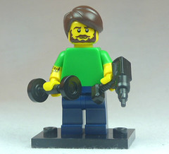 Brick Yourself Custom Lego Figure Well Groomed Mans Man