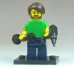 Brick Yourself Custom Lego Figure Well Groomed Mans Man