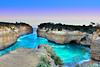 Loch Ard Gorge Sundown (ian_underthesea) Tags: beach cliffs ocean colourful hdr australia victoria coast rugged seascapes landscape