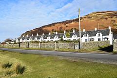 12 Apostles (Harry McGregor) Tags: catacol arran isleofarran ayrshire scotland 1850 road grass houses sky landscape historic hungryrow clearances highlandclearances twelveapostles harrymcgregor nikon d3300 21 february 2018