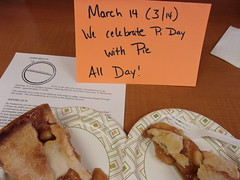 National Pi Day (CityCollegeHWD) Tags: pi day hollywood celebration 31416 citycollege campus student apple pie