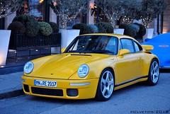 RUF CTR Yellowbird - Germany, Unterallgäu (Helvetics_VS) Tags: licenseplate germany unterallgäu sportcars porsche 911 ruf ctr yellowbird