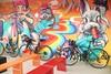 關西 118 縣道.色彩繽紛的 7-11 牆 (nk@flickr) Tags: taiwan hsinchu cycling 新竹 台湾 20180318 guanxi 關西 台灣 canonefm22mmf2stm