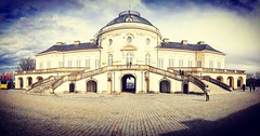 Solitude Castle (DrQ_Emilian) Tags: castle building architecture old historical colors light sky clouds visit discover explore travel outdoors solitude stuttgart badenwürttemberg germany europe photogrphy hobby smartphone huawei mate10lite panorama
