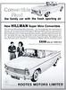 Hillman Super Minx Convertible (1962) (andreboeni) Tags: publicity advert advertising advertisement illustration hillman minx supoerminx convertible cabrio cabriolet rootes classic car automobile cars automobiles voitures autos automobili classique voiture rétro retro auto oldtimer klassik classica classico