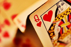 """""""Off with their heads..."""" (davellani) Tags: macro dof playing cards wonderland alice lewiscarol queenofhearts onceuponatime macromondays"""