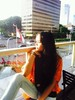 28795111_2066343816975409_8252274991726758897_n (Alfanda Avisheena) Tags: avisheena model orange jakarta town building tumblr girl sunny afternoon photograph